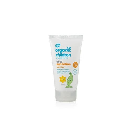 Green People Organic Children Sun Lotion SPF30 Scent Free